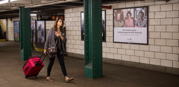 Everyone in New York City has seen the ads, but almost nobody knows what they're really for. (Photo by Kaitlyn Flannagan)