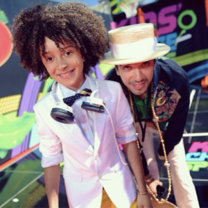 DJ Fulano and his similarly well-dressed mentor, DJ Cassidy (Photo: Fulano's World)