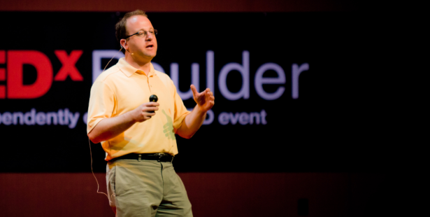Rep. Jared Polis, a big advocate for Bitcoin on the Hill, will co-host the event. (Photo by Brandon Harper)