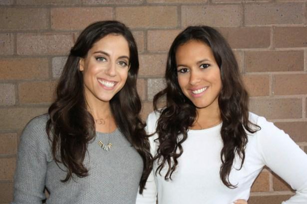 Cofounders Lauren Katzenberg and Julia Carmona. (Photo via TheStylisted)