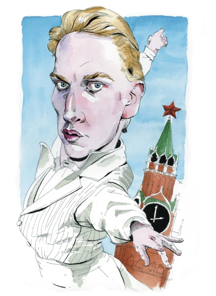 David Hallberg. (Illustration by Paul Kisselev)