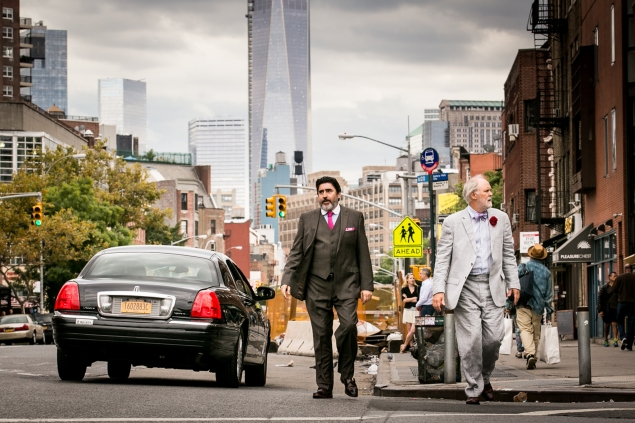 Alfred Molina, left, and John Lithgow star in Love Is Strange.