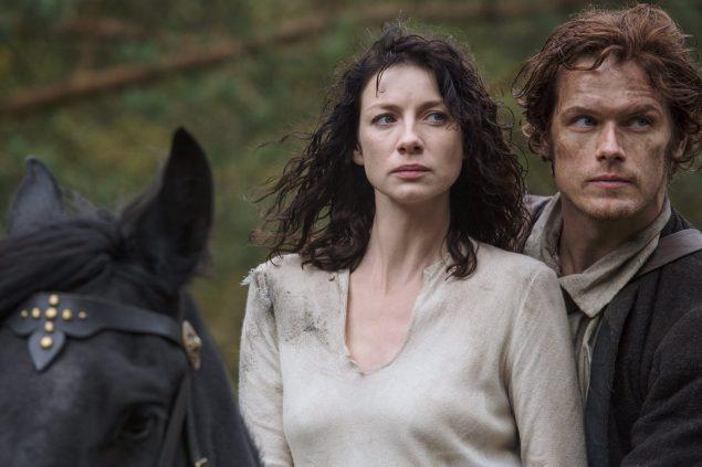Outlander, a ladies show. (Starz)