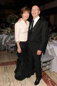 Nancy and Stephen Cooper. (Patrick McMullan)