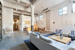 Cary Tamarkin's 140 Perry—with all the brawny touches of a true loft.