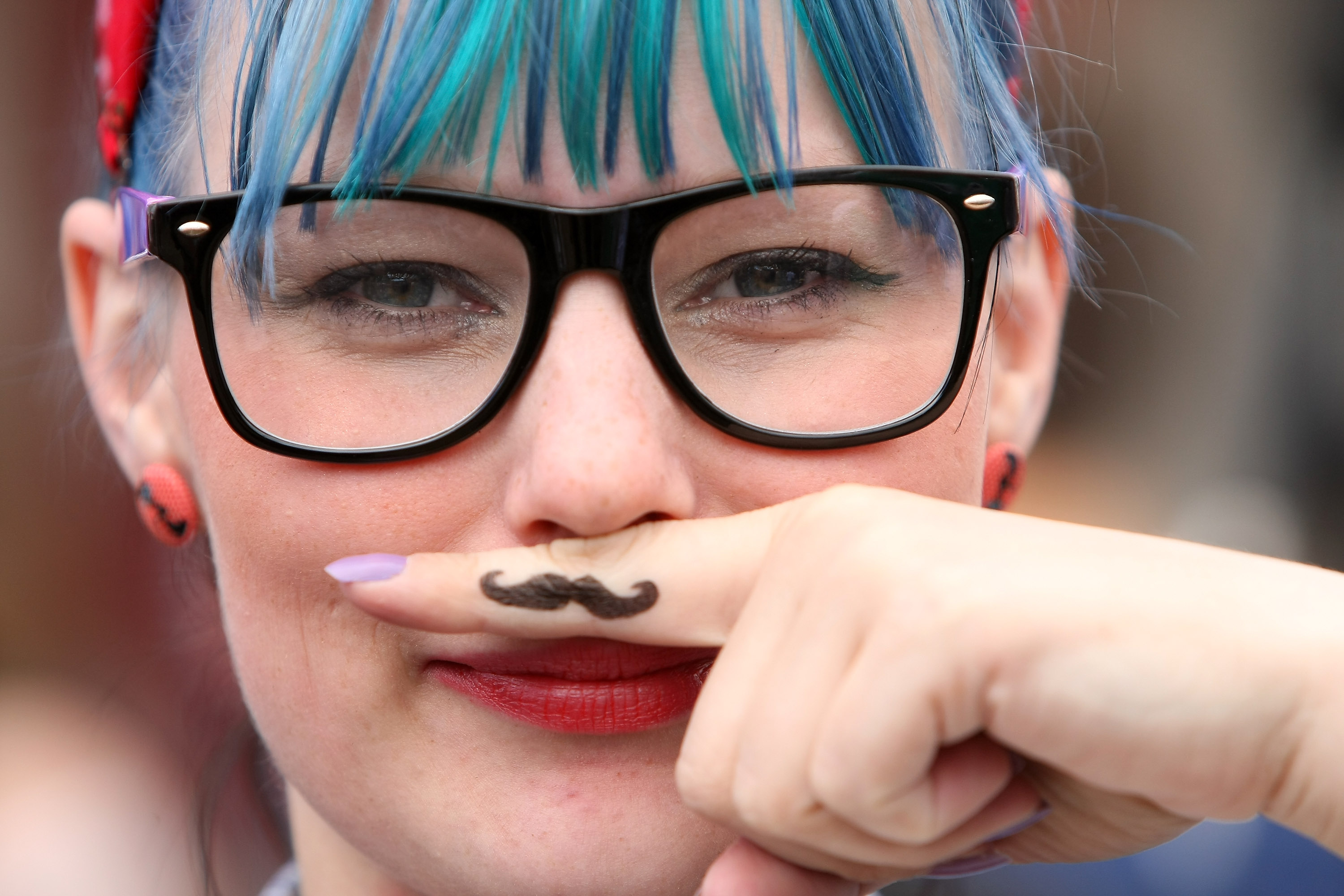 You know what you did, hipsters. You know. (Getty)