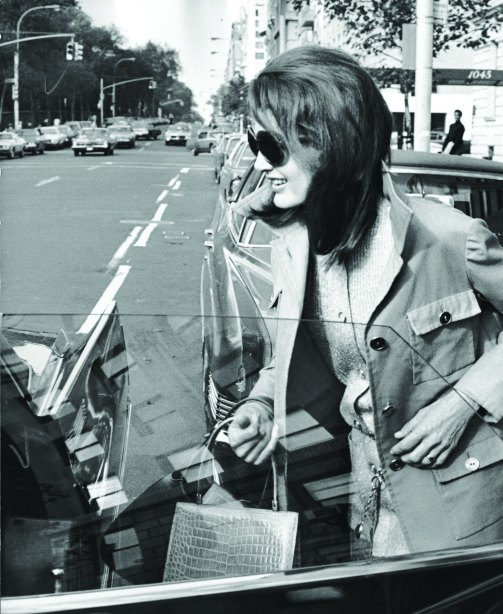 Jackie Kennedy Onassis, 1970. (Photographs courtesy Ron Galella)