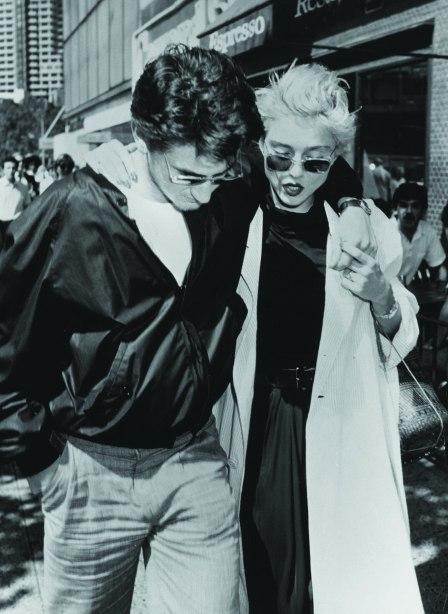Sean Penn and Madonna, 1986.