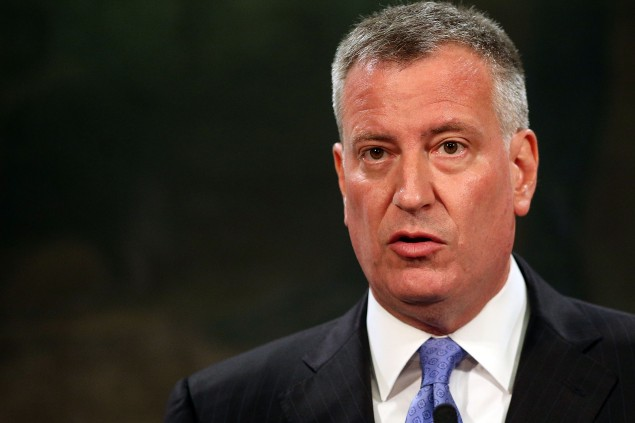 Mayor Bill de Blasio. (Photo: Spencer Platt/Getty Images