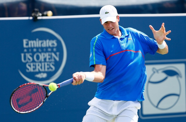 """Isner says the U.S. Open """"is probably my best chance"""" to win a Grand Slam. (Photo by Kevin C. Cox/Getty Images)"""