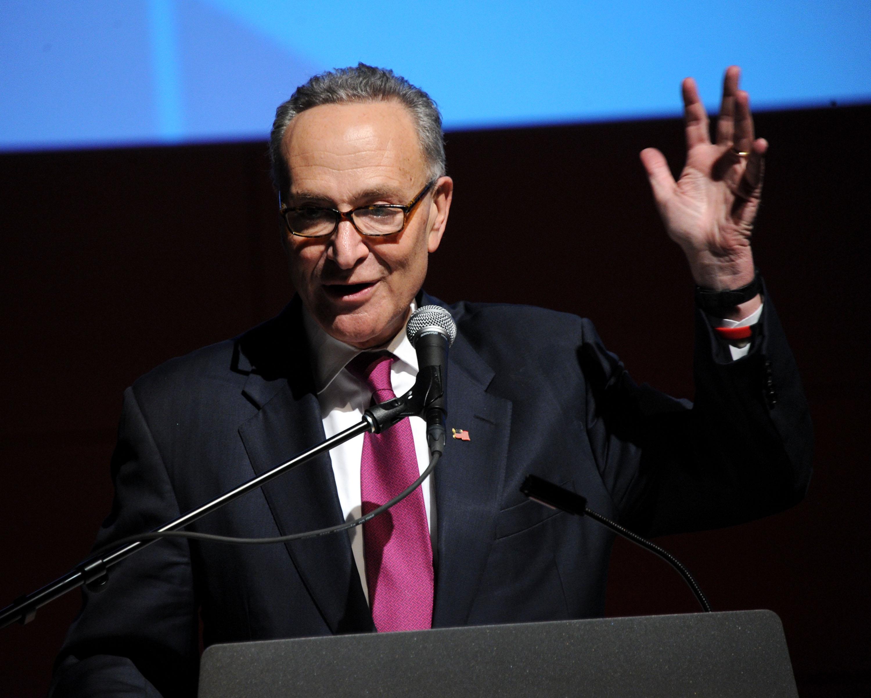Senator Charles Schumer. (Photo: Ben Gabbe/Getty Images)