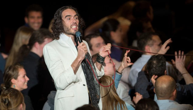 Comedian Russell Brand