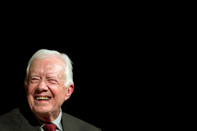Former President Jimmy Carter (Photo via Getty Images)