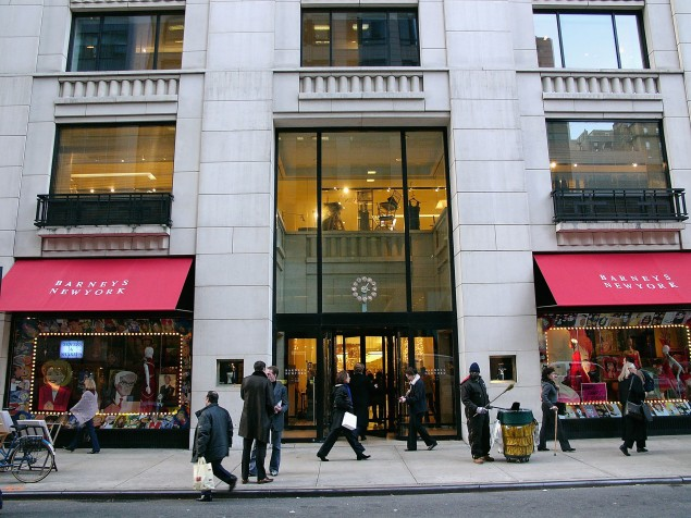 Barneys flagship store at 660 Madison Avenue. (Getty)