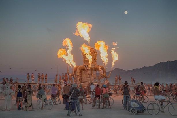 Burning Man 2012. Let them eat... acid? (Photo via Flickr)