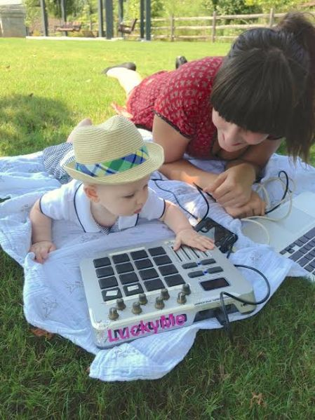 Baby DJ School cred. to Dara Moreno