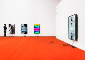 """An installation from """"tl;dr"""" at Team Gallery, 47 Wooster Street (Courtesy Team Gallery)"""