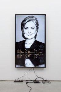 """Hillary / Lakes"" (2014) by Cory Arcangel (Courtesy Team Gallery)"