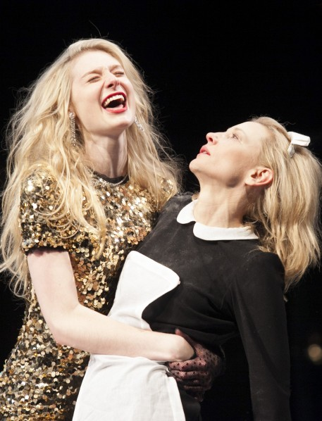 Elizabeth Debicki and Cate Blanchett in The Maids photo by Lisa Tomasetti