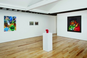 """Installation view of """"The Crystal Palace."""" (Courtesy Rachel Uffner Gallery)"""