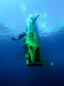 James Cameron's Deepsea Challenge, now at the AMNH.