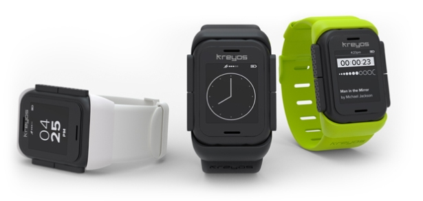 The Kreyos smartwatch might look cool, but that's just the problem: on a crowdfunding site, all you need is the right pitch. (Photo via Kreyos)