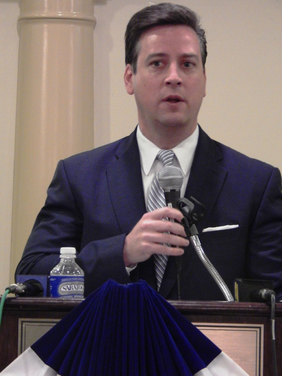 Middlesex County Democratic Chairman Kevin McCabe.