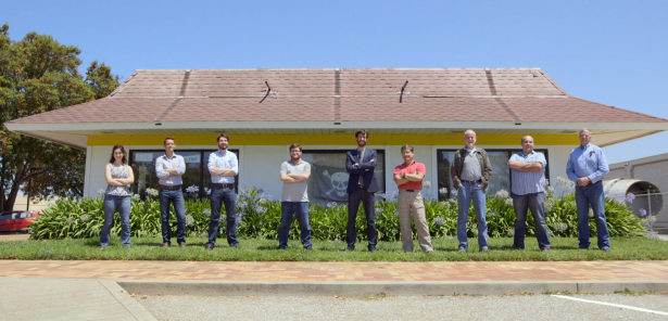 The McMoon team outside of mission control. (Photo via Google)
