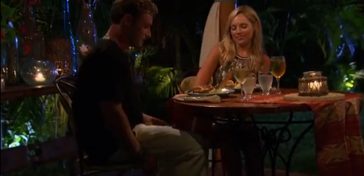 Also, anyone else notice that Sarah's wine glass was SIGNIFICANTLY more full than Dylan's?