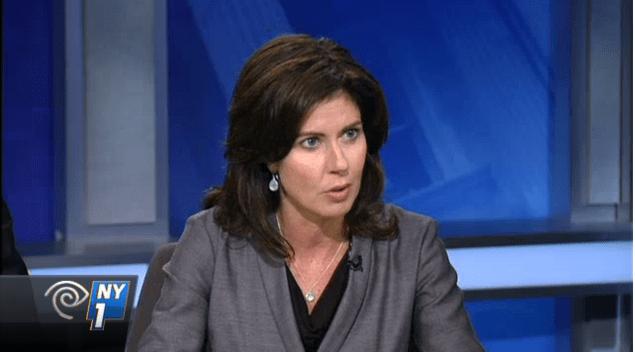 Councilwoman Elizabeth Crowley (Screenshot: NY1)