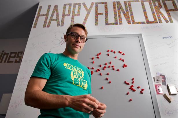 Ben Schippers, cofounder of HappyFunCorp and its new code school. (Photo via HappyFunCorp)