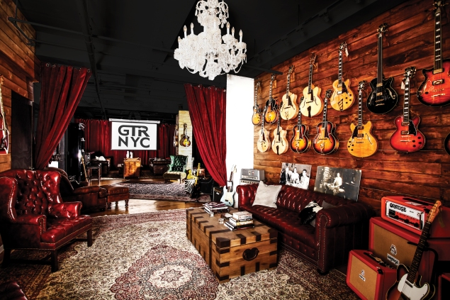 D'Angelico Showroom (Photo by D'Angelico Guitars)