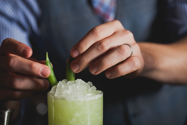 The Green Giant at The Clover Club (Photo: Shannon Sturgis)
