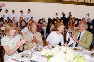 Anna Wintour, Oscar de la Renta, Carolina Herrera and Graydon Carter at the 2014 Couture Council Award Luncheon Honoring Carolina Herrera. Photo - Patrick McMullan/PatrickMcMullan.com