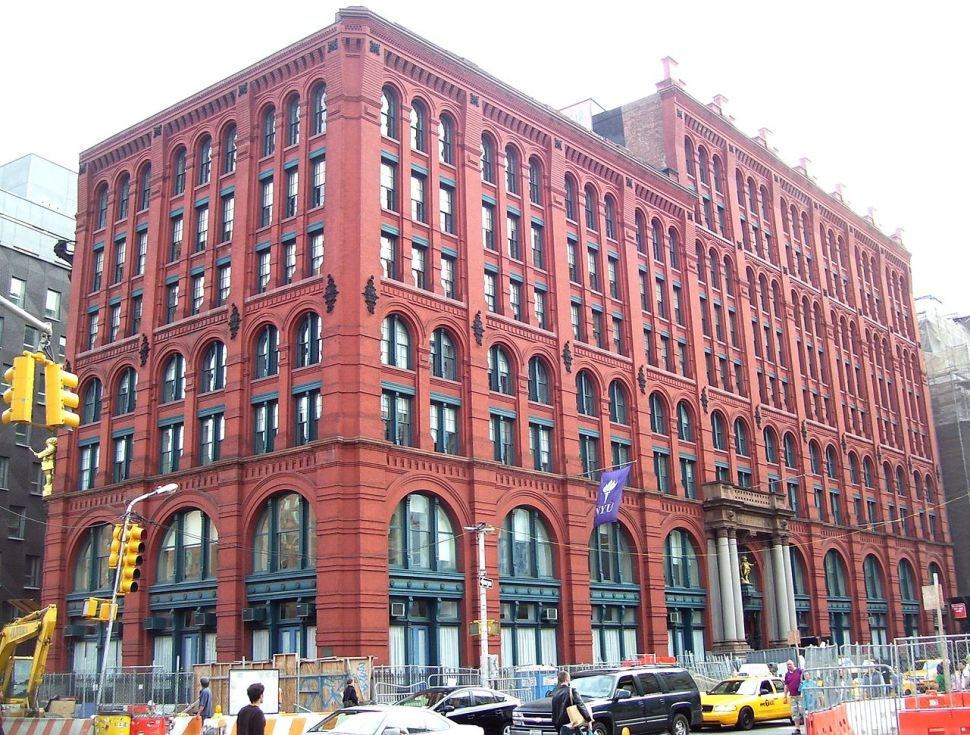 The iconic Puck Building, where two more ultra-lux condos are about to hit the market. (photo: Beyond My Ken, Wikimedia Commons)