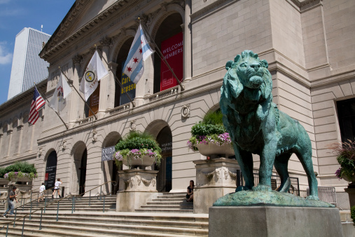Art Institute of Chicago. (Courtesy Getty Images)