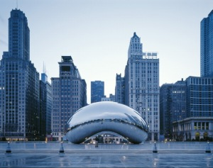Millennium Park, Chicago, United States, Architect Frank Gehry, 2004
