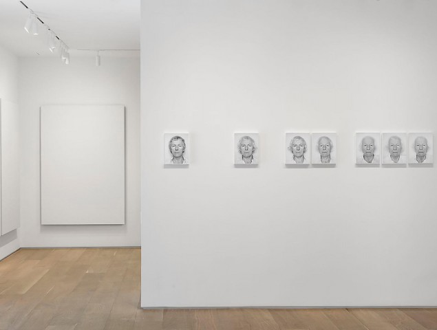 Roman Opalka, installation view. (Courtesy Dominique Lévy Gallery)