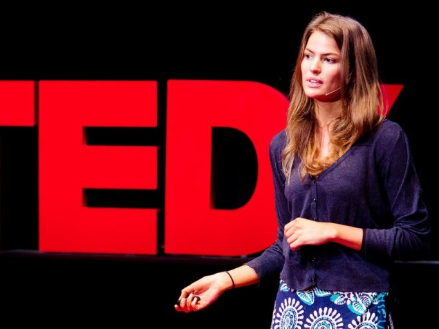 Cameron Russell.  (Photo courtesy Ted Talks)