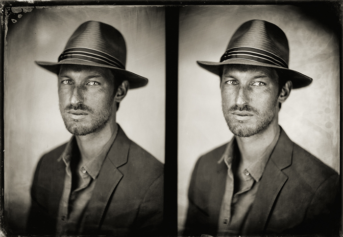 A stereo tintype. (Courtesy penumbrafoundation.org)