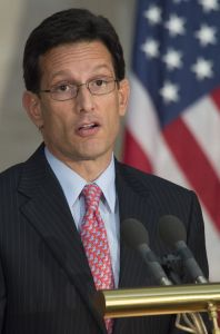 Former House Majority Leader Eric Cantor (JIM WATSON/AFP/Getty Images)