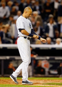 Derek Jeter. (Photo by Jim McIsaac/Getty Images)