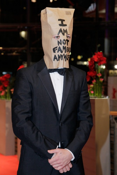 The artist is present: Shia LaBeouf in Berlin. (Courtesy Getty Images)