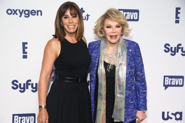 Melissa and Joan Rivers in May 2014.