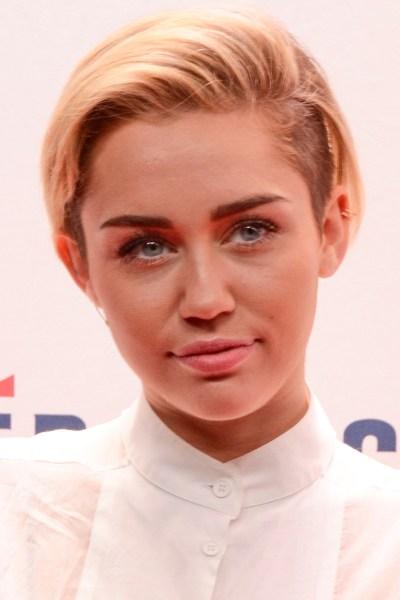Miley Cyrus, visual artist. (Courtesy Patrick McMullan)