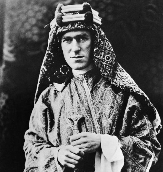 Portrait of T.E. Lawrence by Lowell Thomas