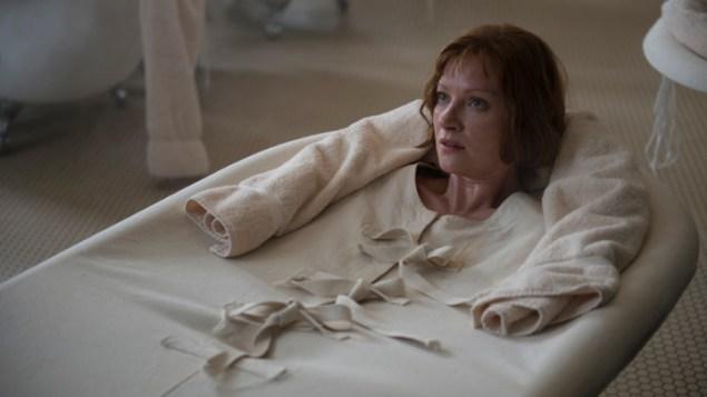 Gillian's relaxing dip on Boardwalk Empire. (HBO)