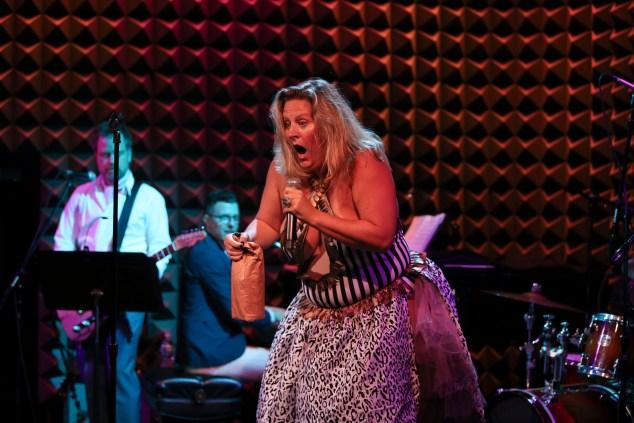 Bridget Everett performing Rock Bottom. Photo by Tammy Shell
