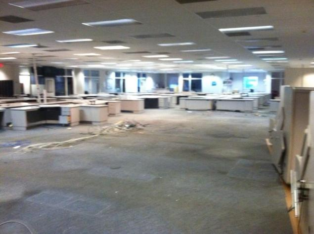 The Star-Ledger's former newsroom (Photo from Facebook)