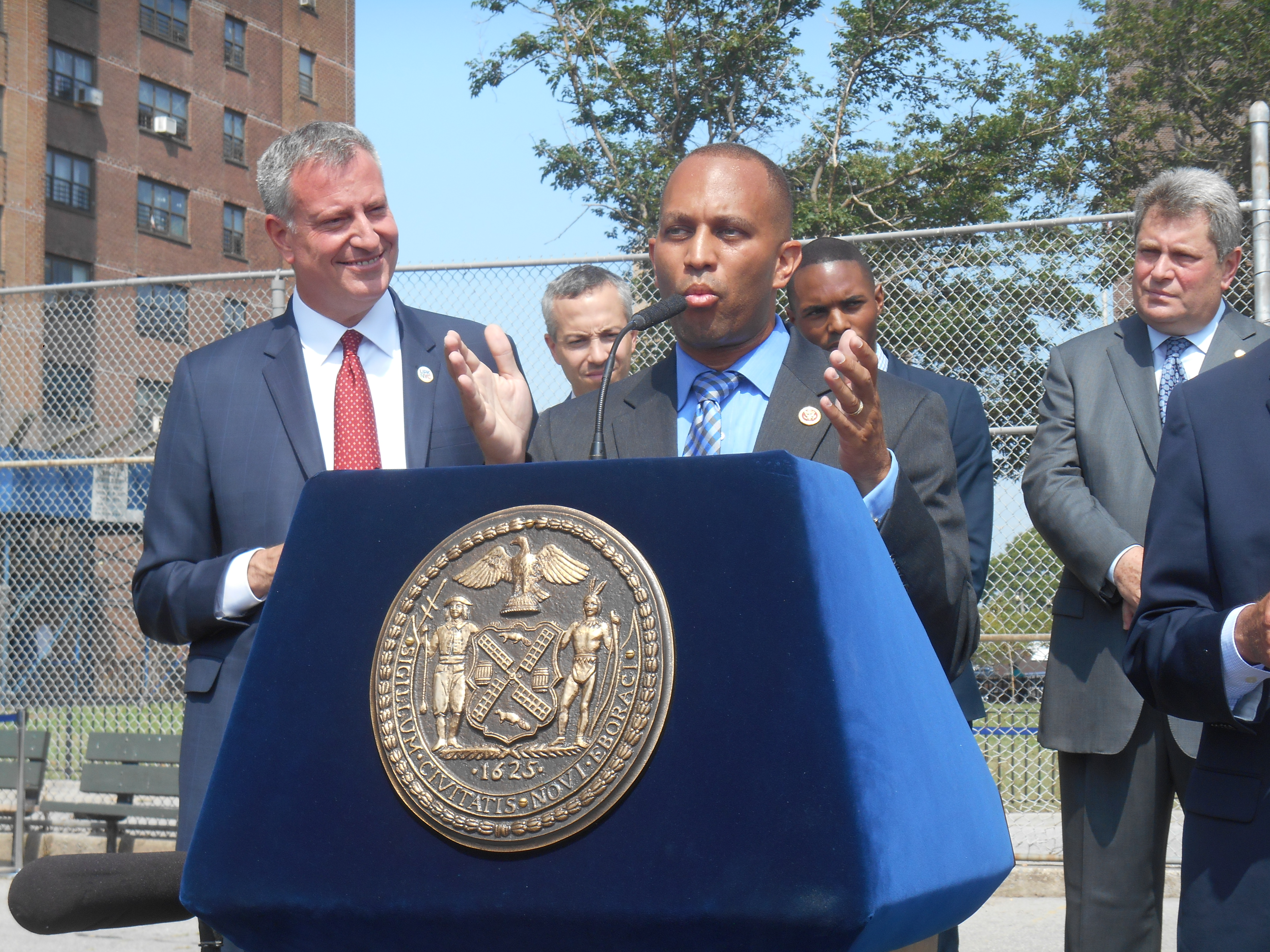 Congressman Hakeem Jeffries. (Photo: Ross Barkan/New York Observer)